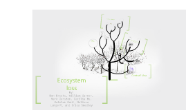 Ecosystem loss
