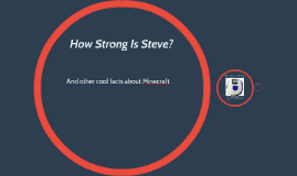 How Strong Is Steve?
