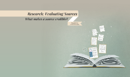 Research: Evaluating Resources