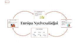 Európa Nyelvcsaládjai