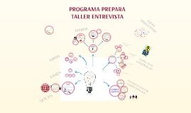 Copy of TALLER ENTREVISTA