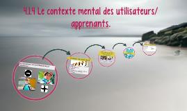 4.1 LE CONTEXTE DE L'UTILISATION DE LA LANGUE.