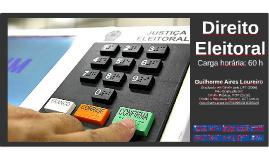 1º Encontro - Direito Eleitoral