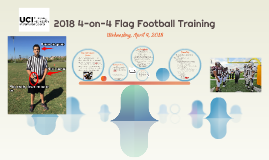 2017 4-on-4 Flag Football Training