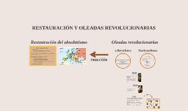 RESTAURACIÓN Y OLEADAS REVOLUCIONARIAS