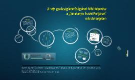 """Copy of A helyi gazdaság lehetőségeinek feltérképezése a """"Dunakanyar Északi Partjának"""" mikrotérségében"""