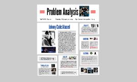 Javier's Problem Analysis