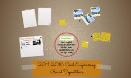 2011-2016 Civil Engineering Board Topnotchers