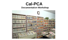 Cal-PCA Documentation Workshop