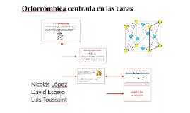Copy of Ortorrómbica centrada en las caras