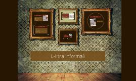 Copy of L-Ittra Informali
