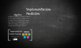 Implementacion Medicion