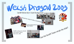 Welsh Dragon 2009