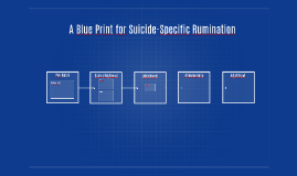 A Blue Print for Suicide-Specific Rumination