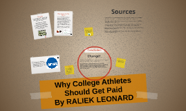 college athletes should be paid 2 essay
