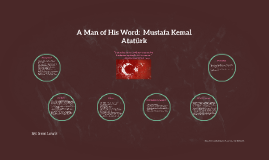 A Man of His Word:  Mustafa Kemal Atatürk