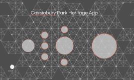 Cassiobury Park Heritage App