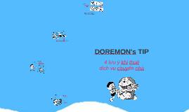 DOREMON TIP - 4 Luu y khi lua chon dich vu chuyen nha