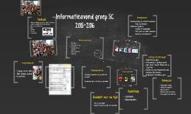 Copy of Informatieavond groep 5C