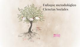 Enfoque metodológico Ciencias Sociales