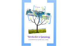 Introduction to Genealogy at the Jessamine County Public Library