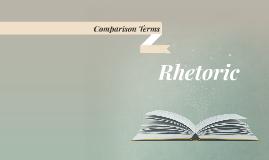 Comparison Terms