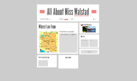All About Miss Walstad