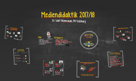 Mediendidaktik 1 (2017/18)