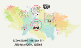 Reconstruction Era By: Anson,Marco, Yiming