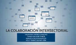 LA COLABORACIÓN INTERSECTORIAL