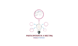 PARTICIPATION IN A MEETING