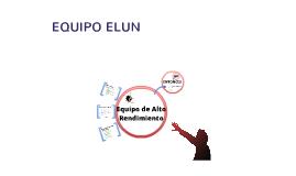 Equipo de Alto Rendimiento - Elun - Chile