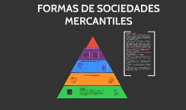fORMAS DE sOCIEDFADES mERCANTILES
