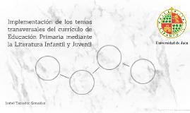 Implementación de los temas transversales del currículo de E