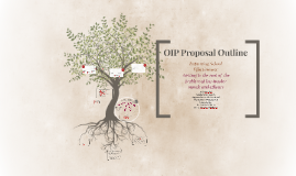 FINAL OIP OUTLINE PROPOSAL