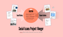Social Issues Project: Hunger