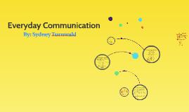 Everyday Communication