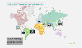 The New 7 Wonders of the World