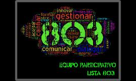 Equipo participativo 803 v2