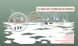 Copy of EL PASO DEL ESTRECHO DE BERING