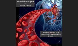 Saturación de Oxígeno & Presión arterial