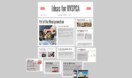 Ideas for RVSPCA