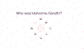 Mahatma Gandhi was an Indian lawyer, politician and thinker