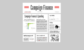 Module Nine Lesson Two Mastery Assignment: Campaign Finance