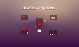 Història de la Terra