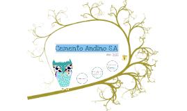 BG, ER y EF: Cemento Andino S.A.