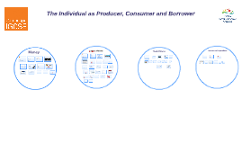 The Individual as Producer, Consumer and Borrower