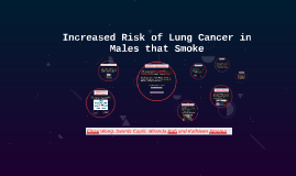 Copy of Increased Risk of Lung Cancer in Males that Smoke