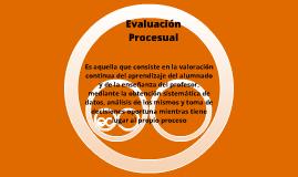 Evaluación procesual