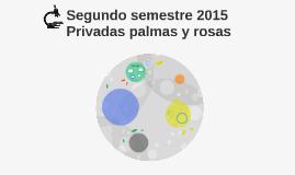 Segundo semestre 2015